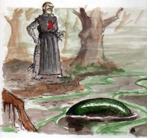 Herzog Heinrich weckt die Schlange links008